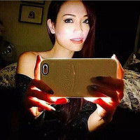 Perfect Selfie LED light shiny Protective Shell shockproof Phone Case for Apple iphone6&6s 6&6s plus