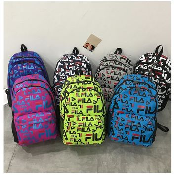 FILA Laptop Backpacks College Bags School Daypack Travel Bag