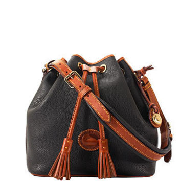 Dooney & Bourke: Commemorative All-Weather Leather Medium Drawstring