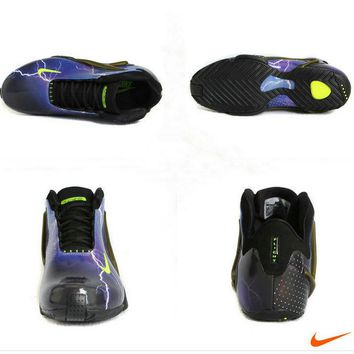 2018 Cheap Priced Nike Zoom Hyperflight PRM Ultraviolet Volt Black 587561 500 Brand sneaker