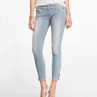 STELLA FADED RAILROAD STRIPE ANKLE JEAN LEGGING