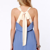 Honey Dipper Periwinkle Blue Dress