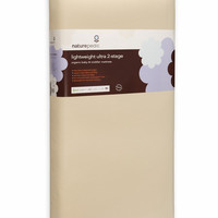 Naturepedic Crib Mattress - Organic Cotton Lightweight ULTRA 2-Stage