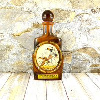 Vintage Jim Beam Decanter designed by James Lockhart, Redhead Duck