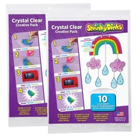 Shrinky Dinks Crystal Clear 20 Sheet Pack
