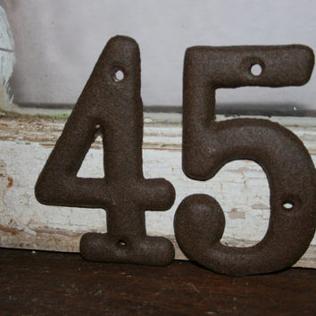 1 DIY Wedding table number / assigned seating / placement table numbers / DIY rustic wedding decor
