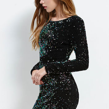 Motel Rocks Gabby Sequined Bodycon Dress at PacSun.com