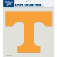 "Wincraft Tennessee Volunteers Diecut Decal  8""x8"" Color"