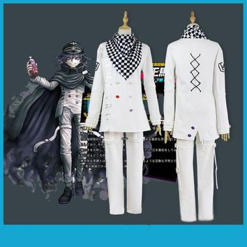 DCCKH6B Anime Danganronpa V3 Ouma kokichi Cosplay Costume Japanese Game School Uniform Suit Outfit
