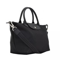 Longchamp Neo Le Pliage Black Medium Tote Bag Handbag