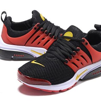 Air Presto Red Black