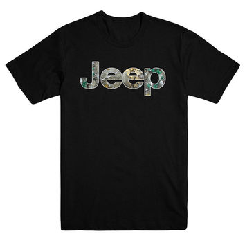 Jeep Wrangler Camouflage Realtree Unlimited Rubicon T Shirt