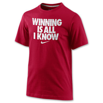 Boys' Nike Winning Is All I Know T-Shirt