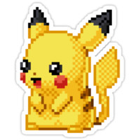 Pikachu Sticker!