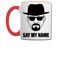 Breaking Bad: Say My Name T-shirt, - Coffee/Tea Mug