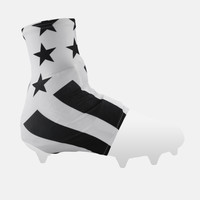 Tactical White Spats / Cleat Covers