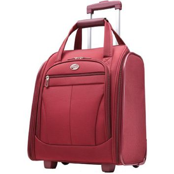 American Tourister Atmosphera II Overnight Tote Ruby Red