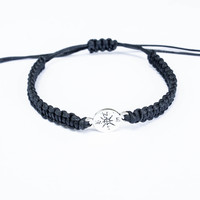 Compass Jewelry, Friendship Bracelet, Best Friend Gift