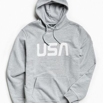 The North Face USA Hoodie Sweatshirt | Urban Outfitters