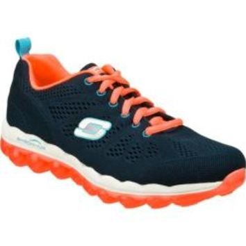 Women's Skechers Skech-Air Inspire Navy/Coral