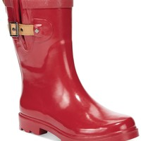 Chooka Top Solid Mid Rain Boots