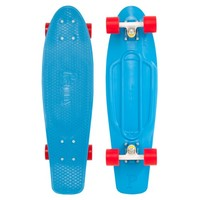Penny Skateboards USA Penny Nickel Cyan Red Skateboard | Penny Skateboards