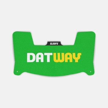 Datway Green Yellow Visor Skin