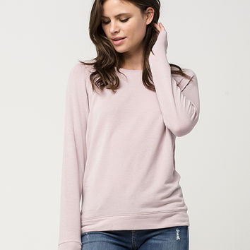 FULL TILT Essential Cozy Womens Sweatshirt | Essentials