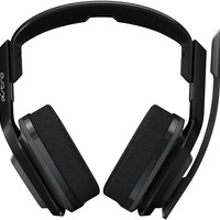 ASTRO A20 Wireless Headset, Black/Green - Xbox One