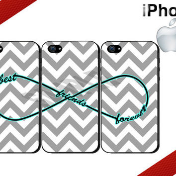 Best Friends Forever iPhone Case  iPhone 4 Case by CrazianDesigns
