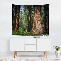 California Sequoia Forest Tapestry