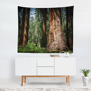 California Sequoia Forest Tapestry - 4 Sizes