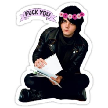 Gerard Way - Fuck You Flower Crowns