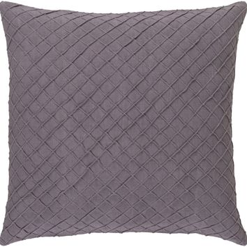 Wright Throw Pillow Purple