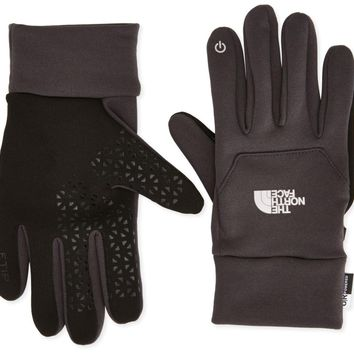 The North Face Unisex Etip Asphalt Grey Touch Gloves size M