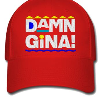 damn gina Bucket Hat - Flexfit Baseball Cap