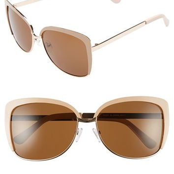 Women's A.J. Morgan 'Malcolm' 58mm Sunglasses