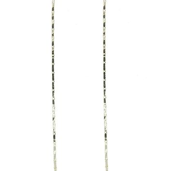 Clear Crystal Stone Long Chain Dangle Earring