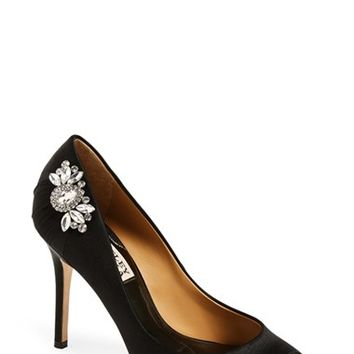 Women's Badgley Mischka 'Seduce' Peep Toe Pump ,