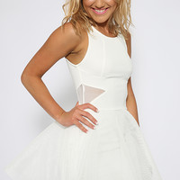 Our Song Dress - White