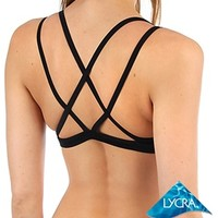 Sporti Double Cross Workout Bikini Top at SwimOutlet.com