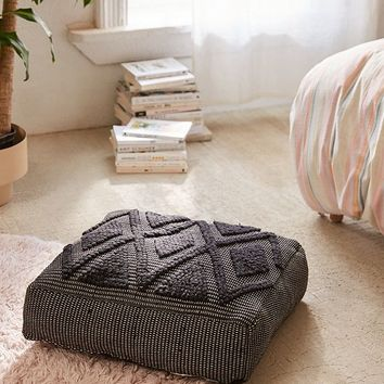 Lua Textured Floor Pillow | Urban Outfitters