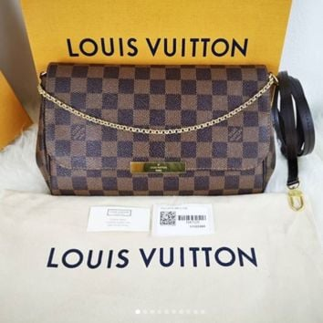 LV Louis Vuitton Women Fashion Shopping Leather Satchel Shoulder Bag Handbag Crossbody