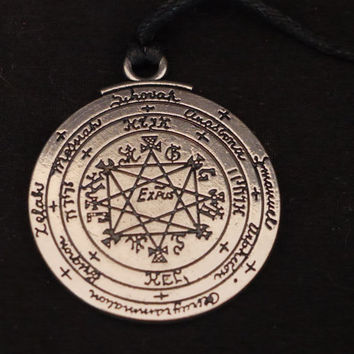 Pentacle of Solomon | Pendant | Goetic | Key of Solomon