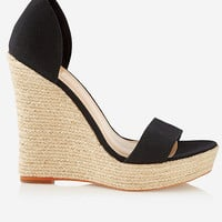 ESPADRILLE WEDGE SANDAL from EXPRESS