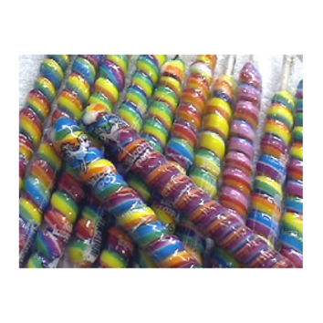 Unicorn Pops 2.5-Ounce Twist Suckers - Rainbow: 36-Piece Case