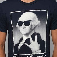 Riot Society Washington Original Gangster Tee- Navy L