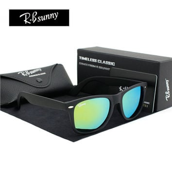 High quality fashion sunglasses Men and women polarized Plastic frames