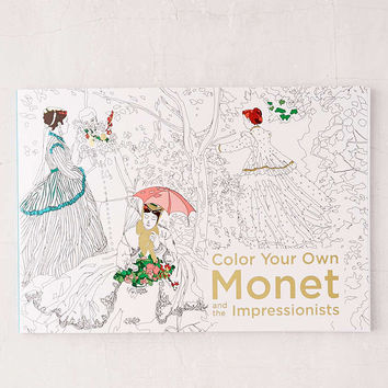 Color Your Own: Monet And The Impressionists - Urban Outfitters