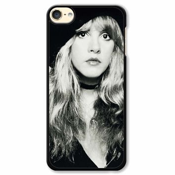 Stevie Nicks Black And White iPod Touch 6 Case